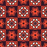 Portugiesische Azulejo-Fliesen. Nahtlose Muster
