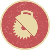 Cirkelsåg Vector Icon