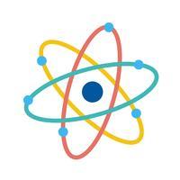 Vektor-Atom-Symbol vektor
