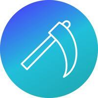 scythe vector icon