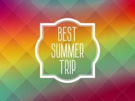 Sommer-Rahmenkarte Hintergrund