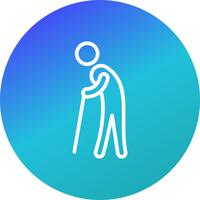 Ruhestand-Vektor-Symbol
