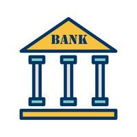 Bank-Vektor-Symbol
