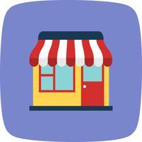 Shop-Vektor-Symbol vektor