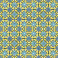 Portugiesische Azulejo-Fliesen. Blauer und weißer herrlicher nahtloser Patte