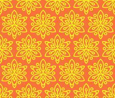 Seamless mönster med solrosor.