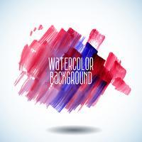 röd abstrakt vattenfärg bakgrund