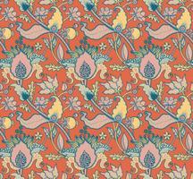 Indian National Paisley prydnad för bomull, linne tyger.