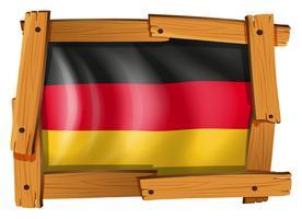 Icon Design für Deutschland Flagge vektor