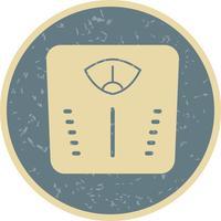 Vektor-Gewichtsmaschine-Symbol