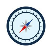 Kompass-Vektor-Symbol vektor