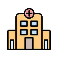 Vektor-Krankenhaus-Symbol vektor