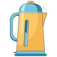 flache ikonenillustration der kaffeebrühmethode. vektor