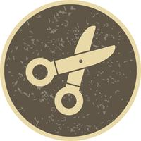 Schere-Vektor-Symbol