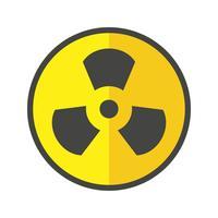 Strahlungs-Vektor-Symbol vektor