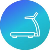 Vektor-Laufband-Symbol