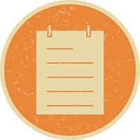 Notepad Vector Icon