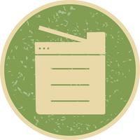 Kopiera maskinvektorns ikon
