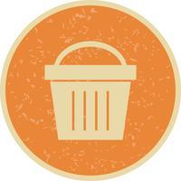 Picknickkorb Vektor Icon