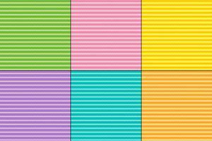 Påsk zig zag stripe mönster vektor