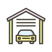 garage vektorikonen vektor