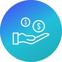 Vektor-Zahlungs-Symbol