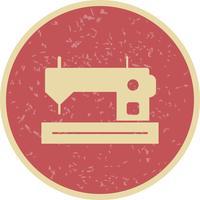 Symaskinvektorns ikon vektor