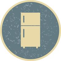 Kühlschrank-Vektor-Symbol vektor