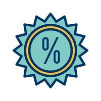 Vektor-Rabatt-Symbol