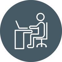 Vektor mit Laptop-Symbol