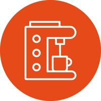 Kaffeemaschine Vektor Icon