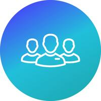 Ledare för Group Vector Icon