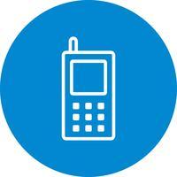 Mobiltelefon Vektor Ikon
