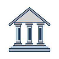 Vektor-Bildungsinstitut-Symbol vektor