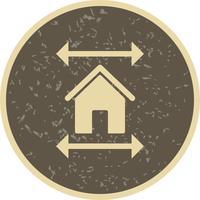 Real Estate Blueprint Vector Icon