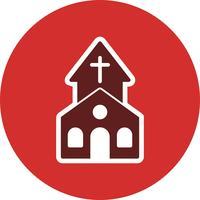 Kirche-Vektor-Symbol