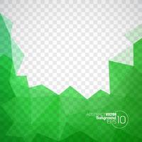 Vektor geometrische Dreiecke Hintergrund. Abstraktes polygonales Design.