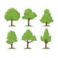 Träd vektor uppsättning