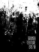 Grunge svart och vit Distress Texture.