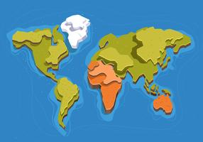 Internationale Karte 3D