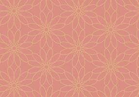 Korallenroter Blumenhintergrund vektor