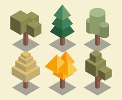 Baum Clipart Set