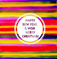 Jul eller nytt år vektor