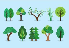 Baum-ClipArt-Sammlung