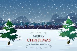 Frohe Weihnachten Türvorlage