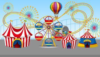 Ein Zirkus- und Spaßmarkt