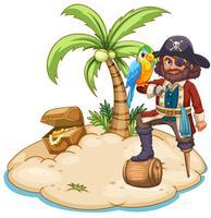 Pirat vektor