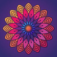 Bunte Deepavali Kolam Muster