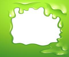 En grön ramdesign