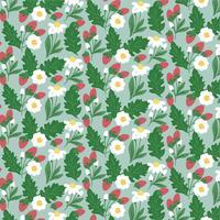 Vektor Frühling nahtlose Muster